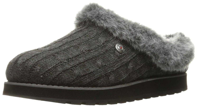 Pantofole Di Angelo Womens Mulo Di Ghiaccio Skechers KeepsakesCarbone Di Legna
