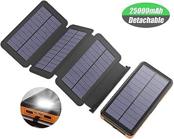 chargeur smartphone solaire et electrique