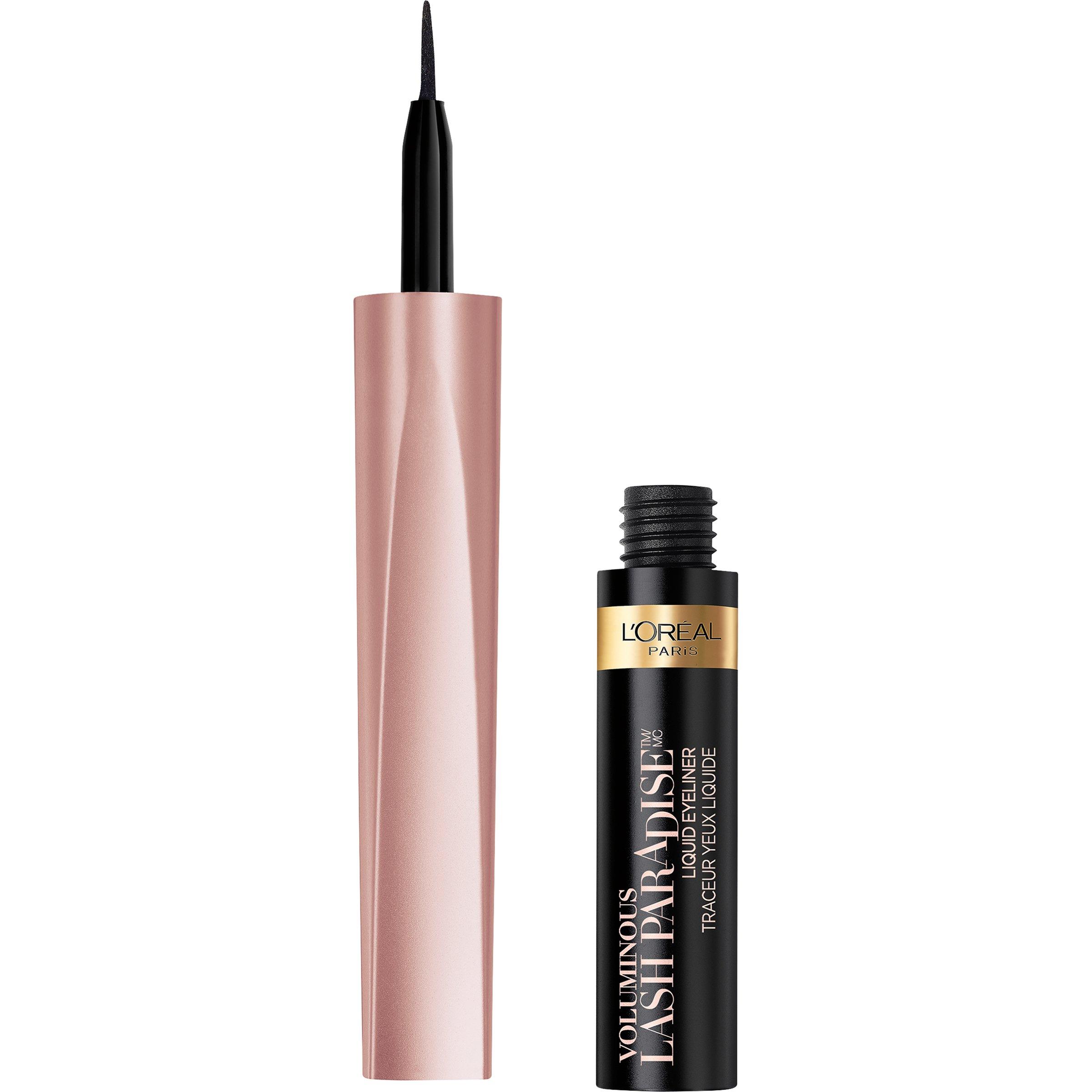 L'Oreal Paris Cosmetics Voluminous Lash Paradise Liquid Eyeliner, Black, 0.05 Fluid Ounce