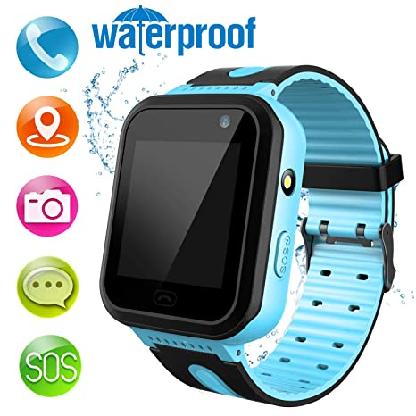 Amazon.com: MeritSoar Kids Smart Watch Phone - LBS Tracker ...
