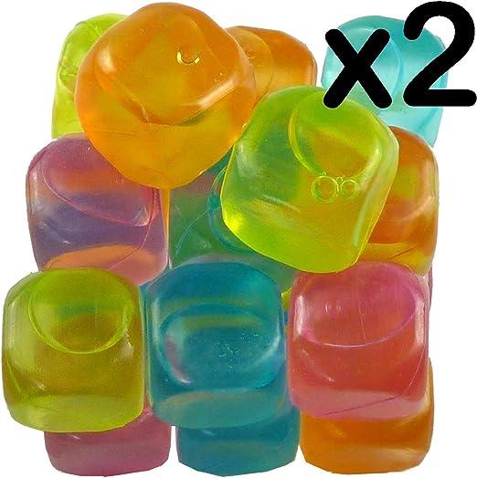 Compra Cubitos de hielo reutilizables para congelar, para fiestas ...