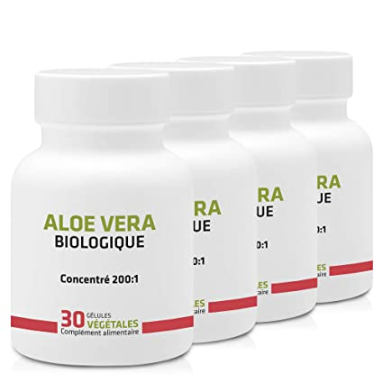 ALOE VERA ECOLÓGICO EN CÁPSULAS * OFERTA 3+1 GRATIS * 250 mg ...