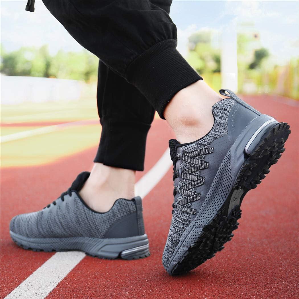SOLLOMENSI Chaussures de Sport Running Basket Homme Femme Course Trail Entra/înement Fitness Tennis Respirantes
