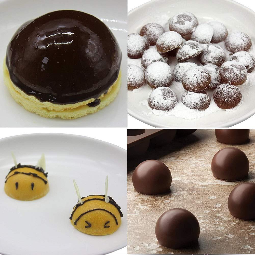 Mini Half Round Ball Chocolate Mold Semi Sphere Candy Mold