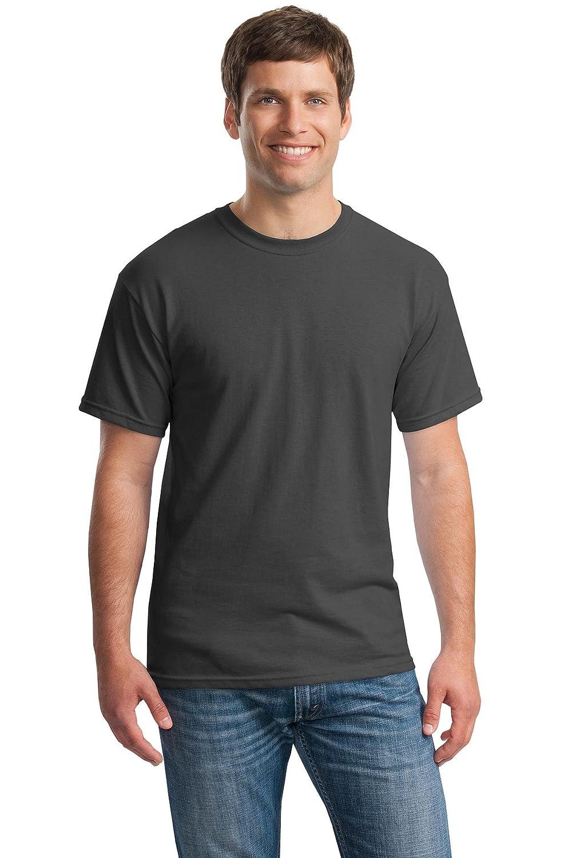 Charcoal XXLarge Gildan Men's Classic Heavy Cotton TShirt (Pack of 12)