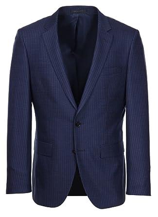 de4603f5 Amazon.com: Hugo Boss T-Harvers/Glover Slim Fit Navy Pinstripe Suit ...