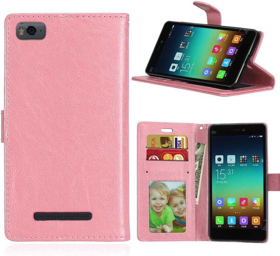 Funda Xiaomi Mi 4i 4c Mi4i Mi4c M4i M4c ,Bookstyle 3 Card Slot PU ...