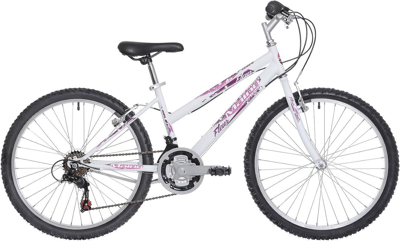 Maino Fleur, bicicleta de niño, blanco/violeta, 36: Amazon.es ...