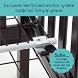 hiccapop Convertible Crib Toddler Bed Rail Guard