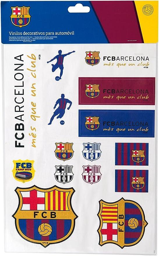 SUMEX Fcb2129 - Adhesivos FC Barcelona DIN A4: Amazon.es: Coche y moto