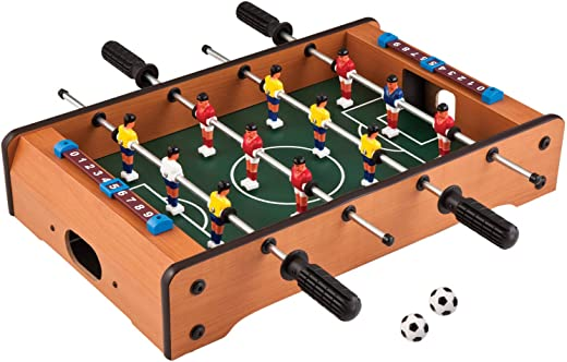 Toyshine Mid-Sized Foosball, Mini Football, Table Soccer Game (50 Cms) - Lets Have Fun!