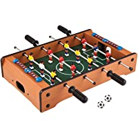 Toyshine 4 Rods Small Football Table Soccer Game, 13.5-inches