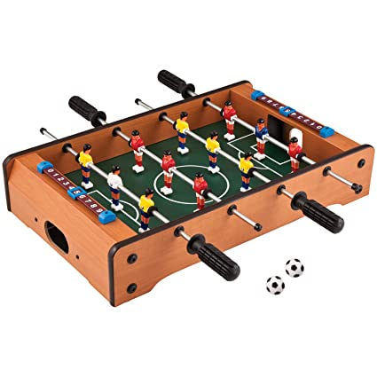 Brilliant Toyshine Mid Sized Football Table Soccer Game With 4 Rods Home Remodeling Inspirations Basidirectenergyitoicom