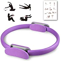 OurTop Yoga Aro Pilates, Anillo Yoga Círculo Mágico para Fitnes Ring Pilates Círculo de Ejercicio Mágico con…