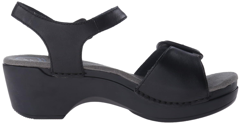 Black dansko sandals - Amazon Com Dansko Women S Sue Wedge Sandal Black Full Grain 39 Eu 8 5 9 M Us Platforms Wedges