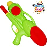 Planet of Toys Pichkari for Holi | Gun Pichkari for Kids, Boys & Girls| Pichkari Water Gun for Holi - Green