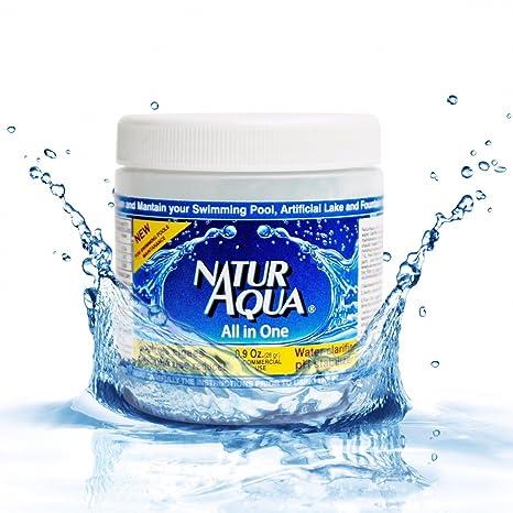 naturaqua todos en un clarificador de agua, estabilizador de ...