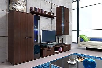 Wohnwand Bingo Anbauwand Schrank Mobel Wohnzimmer Modernes Design