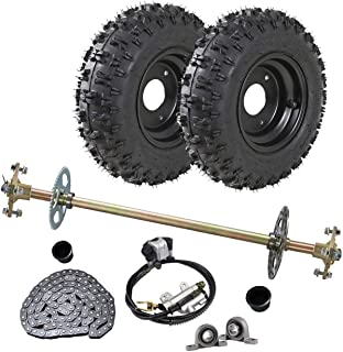 """1-1//8/"""" to 1/"""" Step Down Rear Live Axle For Go Kart Off Road Cart Yard Parts NEW"""