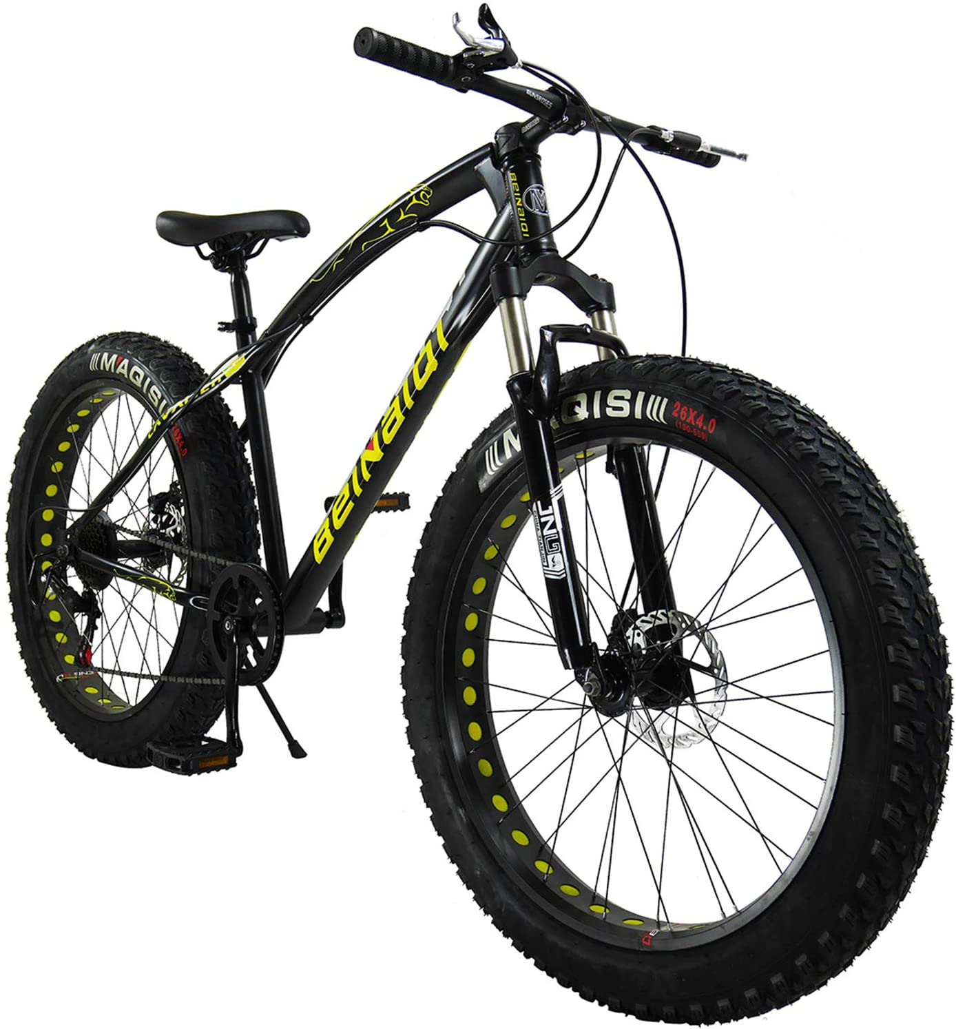 SAIGULA Fat Tire Bicycle Fat Mountain