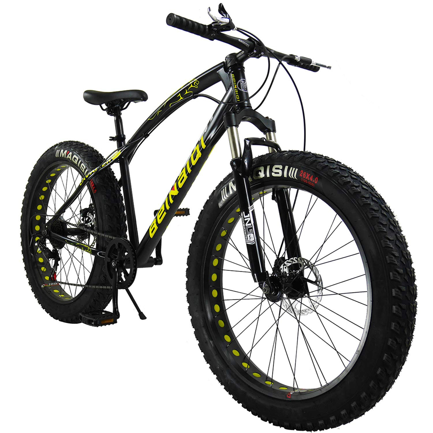 SAIGULA Fat Tire Bicycle Fat Mountain Bike