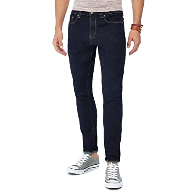 58fbbda7 Red Herring Men Dark Blue Dark Wash Skinny Jeans