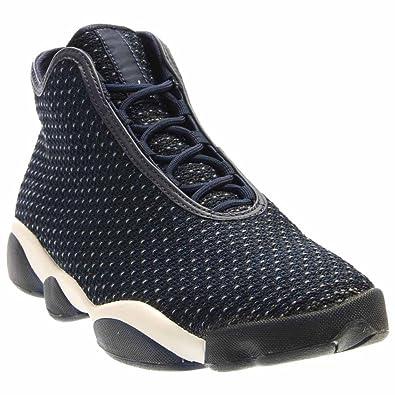 separation shoes 4ca0f c29e1 Jordan Men Horizon (Midnight Navy Infrared 23   Black White) Size 8