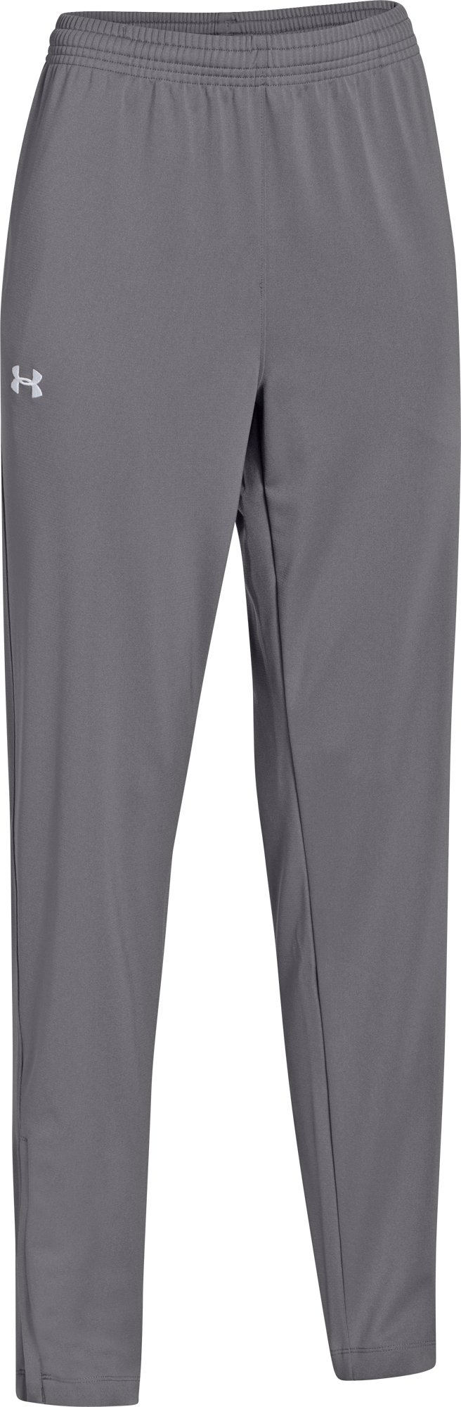 Under Armour Kids Boys UA Futbolista Soccer Pants (Big Kids), Graphite/White, XL (18-20 X One Size