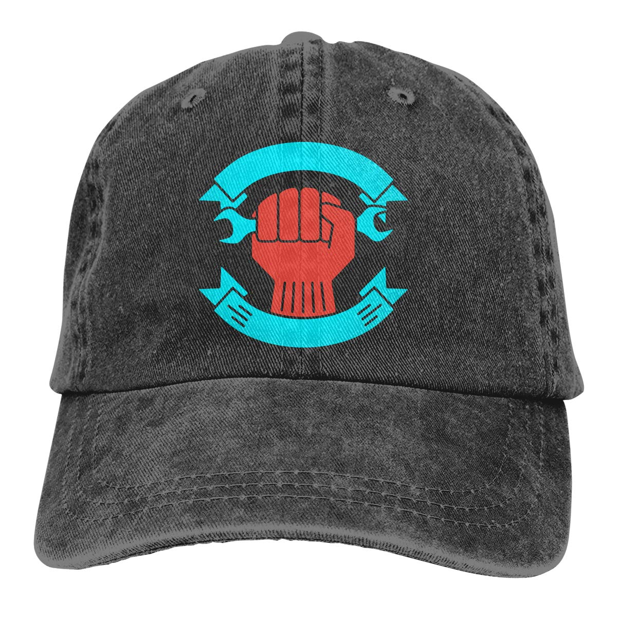Q89 Unisex Adult Its Labor Day Trendy Cowboy Hat Adjustable Trucker Hats