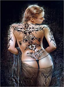 JACCAWS Sexy Woman Tapestry Wall Hanging,Tattoo Naked Girl Tapestry,Sexy Buttocks Shower Woman Tapestry for Bedroom Living Room Dorm Apartment Home Decor. (59'' x L 79'')
