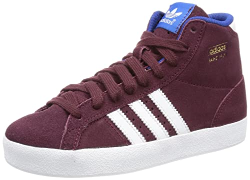 adidas Originals Basket Profi K, Zapatillas Altas para Niños, Rojo-Rot (HERBRN/PRIIN), 28 EU: Amazon.es: Zapatos y complementos