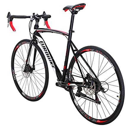 Amazoncom Eurobike Road Bike Eurxc550 21 Speed 49 Cm Frame 700c