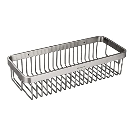 Amazon.com: HOMEIDEAS Shower Caddy Corner Stainless Steel Shower ...