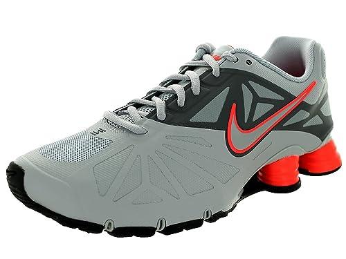 Mens NIKE Shox Turbo 14 Size 11.5, Wolf Grey/Wolf Grey-Dark Grey, 45.5 EU/10.5 UK: Amazon.es: Zapatos y complementos