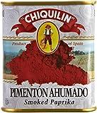 Smoked Paprika Chiquilin Tin 2.64 Oz (8 Pack) Pimenton Ahumado Spain Rich Smokey Flavor - PACK OF 8
