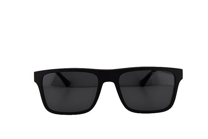 eb53fc7cef Emporio EA4115 Armani - anteojos de sol con lentes intercambiables, color  negro mate, color