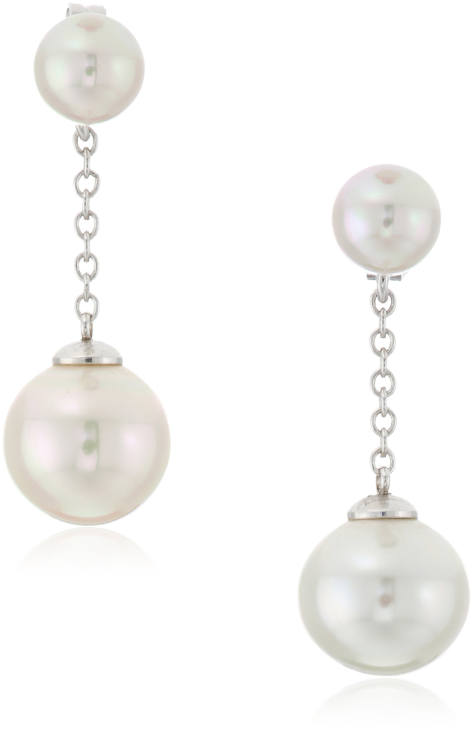 Majorica Quimera Pearl White Drop Earrings