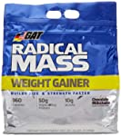 German American Technology Mezcla de Proteínas y Aminoácidos Radical Mass Bag, Chocolate, 10 lb