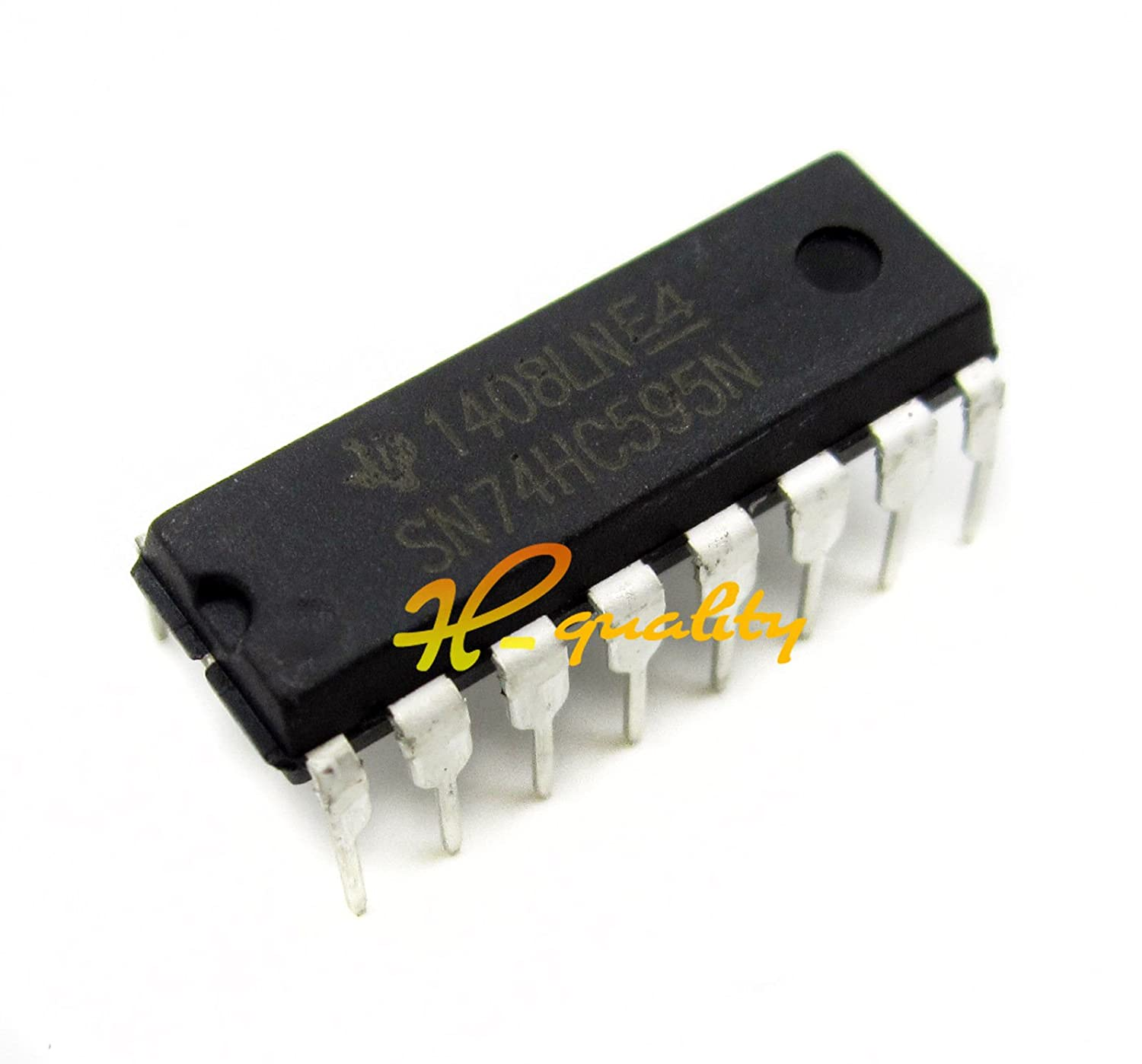 Sodial R Nacht25pcs 74hc595 Ic 8 Bit Shift Register Dip 16 Texas Stk Audio 60w Kreis W Pins Elektronik
