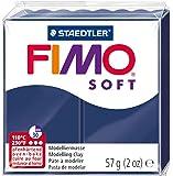 Staedtler Fimo - Pasta de modelar que se endurece en el horno, color azul