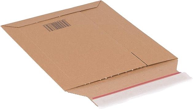 Testliner Versandtasche aus Wellpappe PS.4012T Karton 180x195 mm