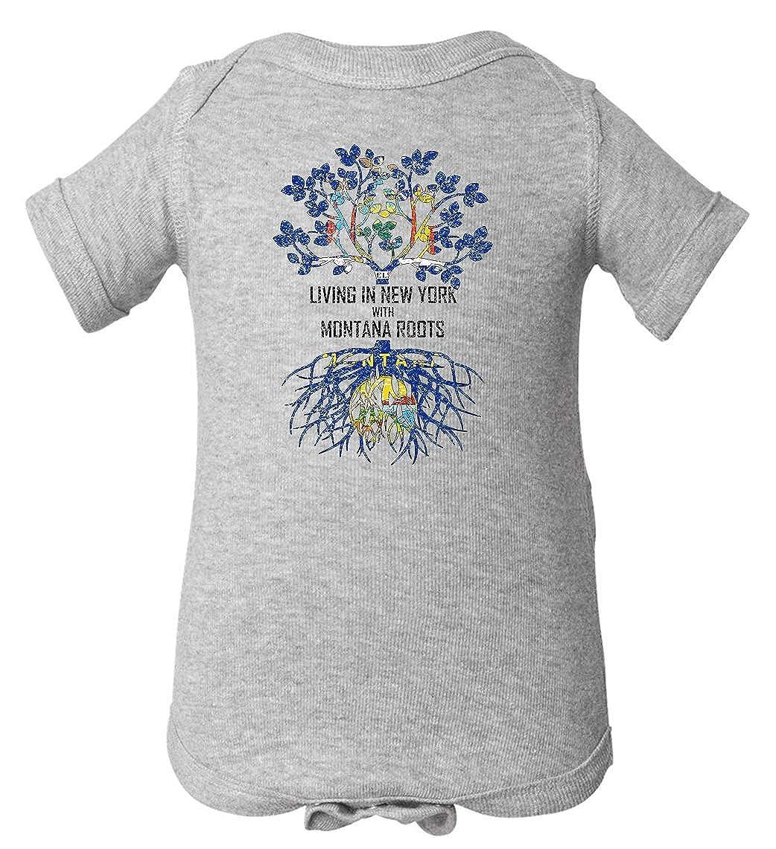 Tenacitee Babys Living in York Montana Roots Shirt
