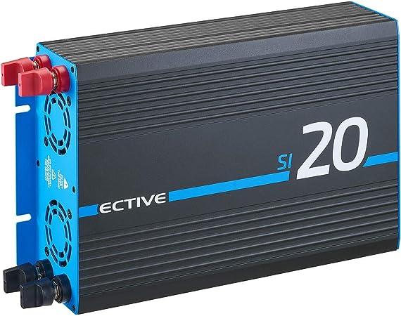 Ective 2000w 24v Zu 230v Sinus Wechselrichter Si 20 Mit Reiner Sinuswelle In 7 Varianten Auto