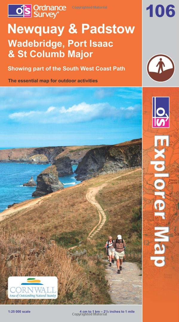 Read Online Newquay and Padstow (OS Explorer Map) pdf epub