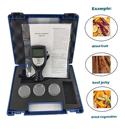 Medidor de actividad de agua manual para alimentos con ...
