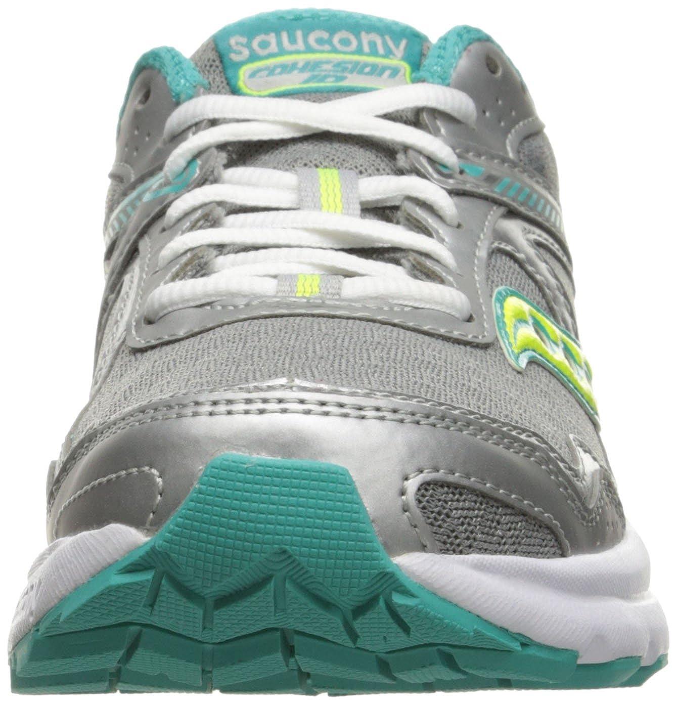 Saucony Damen Cohesion 9 W Sneaker Grau/Teal/Ctn Grau/Teal/Ctn Sneaker 686d71