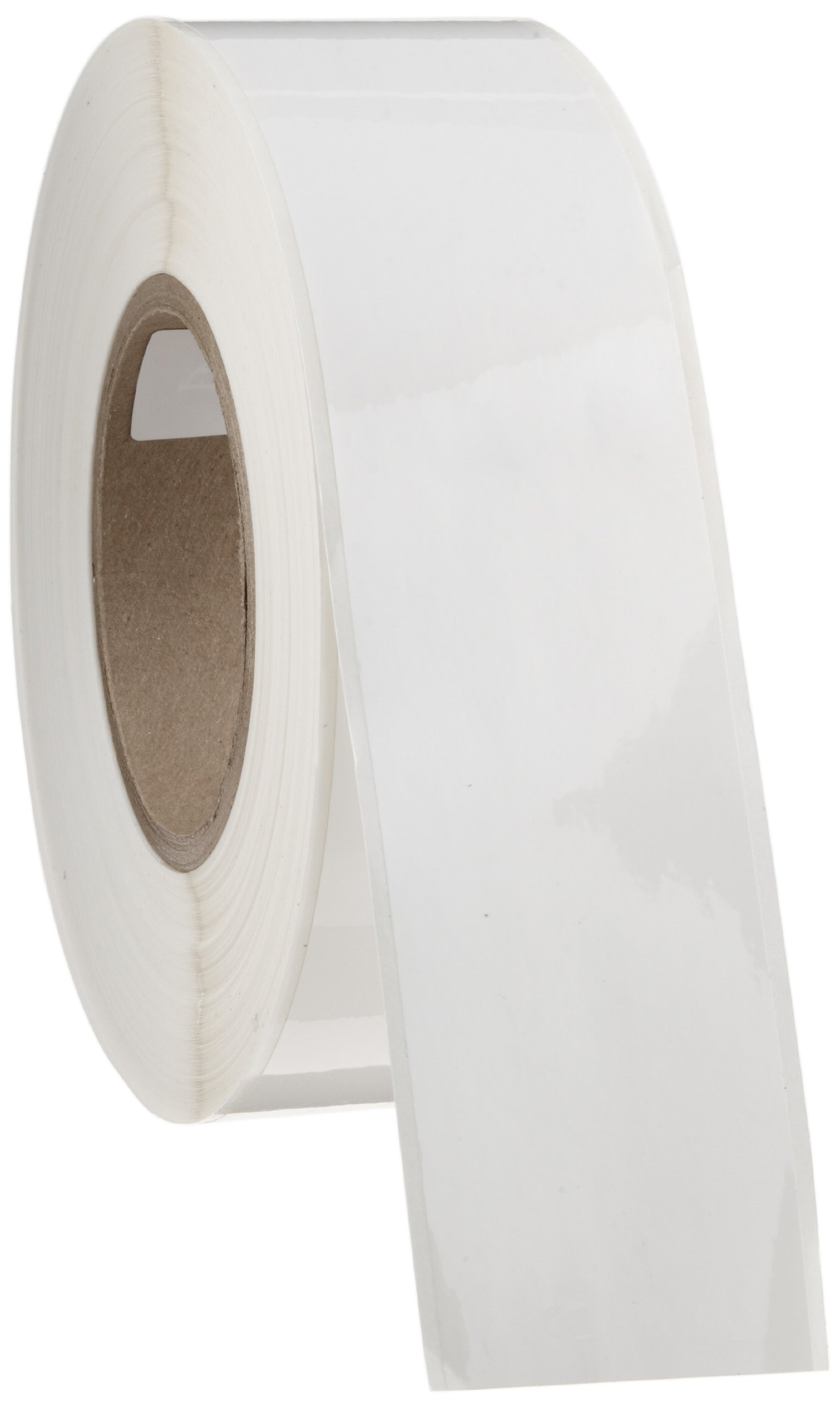 Brady THT-106-423 2'' Width x 300' Height, B-423 Permanent Polyester, Gloss Finish White Thermal Transfer Printable Label by Brady
