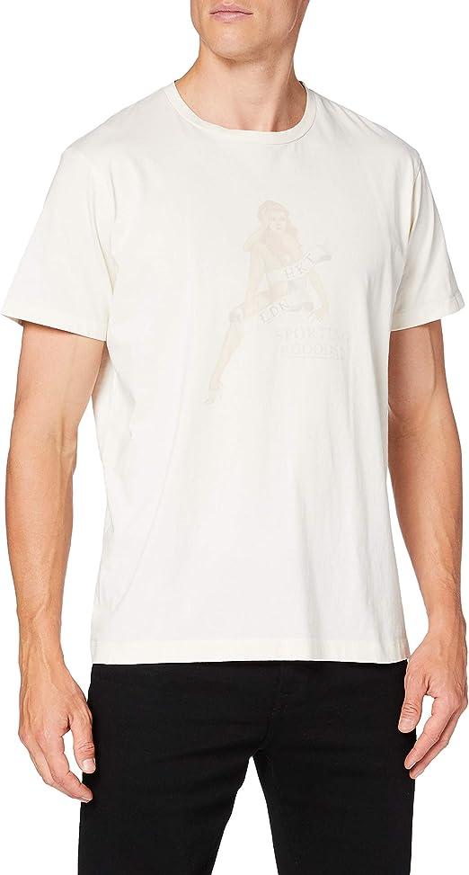 Hackett London Hkt Pin Up Camiseta, Blanco (803off White 803), Medium (Talla del Fabricante: Large) para Hombre: Amazon.es: Ropa y accesorios