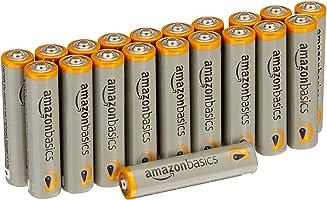 AmazonBasics Performance Baterías alcalinas de alto rendimiento