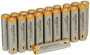 Amazon AmazonBasics AAA Performance Alkaline Batteries 20 Pack